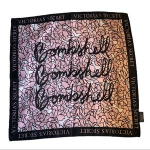 NWT Victoria's Secret Bombshell Pink Floral Scarf